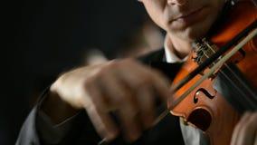 Klassische Musik-Konzert stock video footage