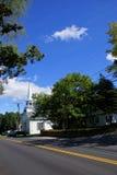 Klassische Neu-England Kirche Lizenzfreies Stockbild