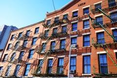 Klassische NY steuern, Manhattan automatisch an Stockbilder