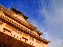 Klassische Osaka Castle Lizenzfreie Stockfotos