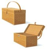 Klassische Picknick-Fessel Stockbilder