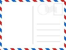 klassische Postkarte Vektorillustration für Ihre Designe vektor abbildung