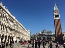 Klassische römische Architektur in Venedig Stockbilder