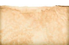 klassische Retro- Weinleseart mit dem alten leeren Papier, zum der Beschaffenheit für Hintergrund zu zeigen Stockfotografie