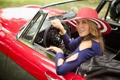 Klassische rote Schönheit Stockfoto
