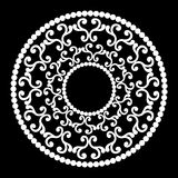 Klassische runde Verzierung stock abbildung