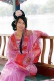 Klassische Schönheit in China. Stockfotografie
