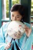 Klassische Schönheit in China. Stockbild