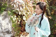 Klassische Schönheit in China. Stockfotos