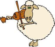 Klassische Schafe Lizenzfreies Stockbild