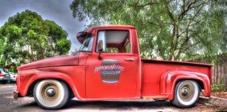 Klassische sechziger Jahre amerikanischer Dodge-Kleintransporter Lizenzfreies Stockfoto