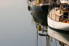 Klassische Segelboote lizenzfreies stockbild