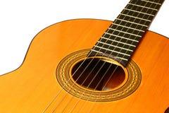 Klassische spanische Gitarre Stockfotografie