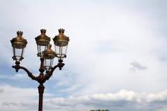Klassische Straßenbeleuchtung Stockfotos