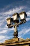 Klassische Straßenlaterne in Budapest Stockfotos