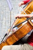 Klassische Straßenmusik Lizenzfreie Stockbilder