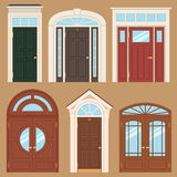 Klassische Türen Stockbild