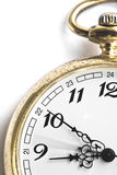 Klassische Taschen-Uhr Stockbild