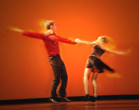 Klassische Tänzer Stockfotos