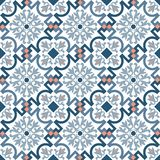 Klassische traditionelle alte marokkanische Luxusfliese des Musters lizenzfreie stockbilder
