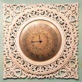 Klassische Uhr mit beweglichem Zeiger Lizenzfreies Stockbild