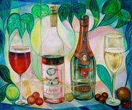 Klassische Weinkellerei Lizenzfreies Stockbild
