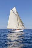 Klassische Yacht-Regatta - Gaff-Schneider ' STAR' 1907 Lizenzfreie Stockfotos