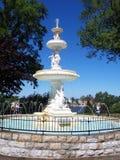 Klassischer Brunnen Stockfoto