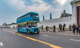 Klassischer Bus-kostenloser Service Lizenzfreies Stockbild