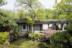 Klassischer chinesischer Garten Stockfotos