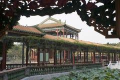 Klassischer chinesischer Garten Stockfoto