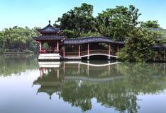 Klassischer chinesischer Pavillon Stockbild