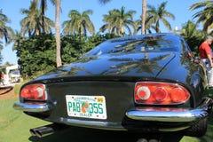 Klassischer Ferrari-Rückseitenplattformabschluß oben Lizenzfreie Stockfotografie