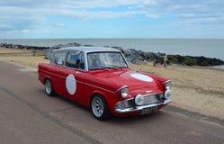 Klassischer Ford Anglia Stockbild