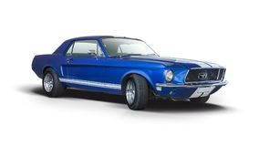 Klassischer Ford Mustang Lizenzfreies Stockbild