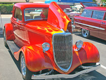 Klassischer Ford Three Window Coupe Stockbilder