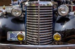 Klassischer Grill Chevrolets Chrome Lizenzfreies Stockbild