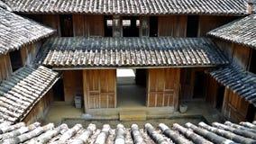 Klassischer Hausvietnamese Hmong König Palace Vietnam lizenzfreies stockfoto