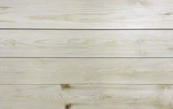 Klassischer heller Weiß-und Brown-Platten-hölzerner Planken-Beschaffenheits-Hintergrund für Möbel-Material Stockbilder