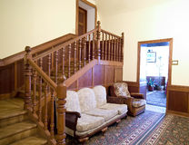 Klassischer Hotelaufenthaltsraum Stockfotografie