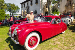 Klassischer Jaguar Stockfotos
