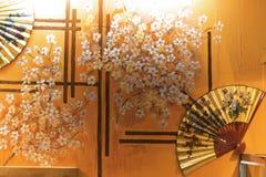 Klassischer Japan-Innenraum Stockfotografie