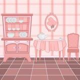 Klassischer Kücheinnenraum Lizenzfreie Stockfotografie