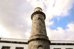 Klassischer Leuchtturm Stockbild