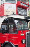 Klassischer London-Bus Lizenzfreie Stockfotos