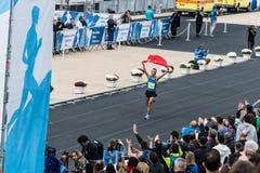 35. klassischer Marathon Athens, das authentische stockfoto