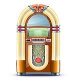 Klassischer Musikautomat lizenzfreie abbildung