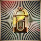 Klassischer Musikautomat Stockfoto