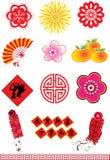 Klassischer orientalischer Muster-Satz Lizenzfreie Stockfotografie