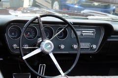 Klassischer Pontiac-gto Innenraum Stockfoto